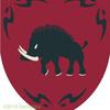 イノシシの紋章