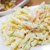 #0184 家で食べるマカロニサラダは大好物なんです。