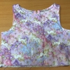 【手作り】H&M風 子供服 ワンピース 作りました!!②