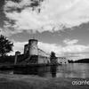 湖に浮かぶドラクエ城