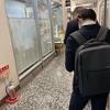 交通飯店@有楽町・ミニチャーハンセット 餃子・2021年4月7日