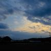 今朝もドンヨリ雲に覆われてたけど