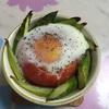 トマトと卵で精神安定に良いココット