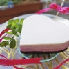 【レアチーズベリーケーキ】ミキサーで混ぜて作る簡単レシピ
