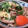 丸亀製麺の【香ばしい鴨が最高】鴨すきうどんが旨い!!