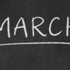 3月が終わります - 3月31日を振り返る
