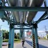 川崎港海底トンネルを歩いて東扇島を散策