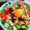 ライス代わりにキャベツ!ニンニク醤油で【低糖質すた丼】(動画レシピ)/A pork bowl with garlic soy sauce.