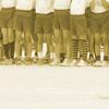 運動会は足元で目立つ? 一番目立つのはしましま靴下