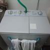 そんなに二層式洗濯機が珍しいのか?(笑)