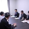 一宮市・中野正康市長が、一宮医療療育センターの施設見学に訪れました