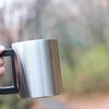 ただ、屋外でコーヒーが飲みたいだけ。