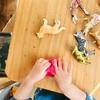 【DIY】ボンドとコンタクト液で作るスライム遊び