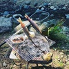 谷太郎川ます釣り場でBBQしてきた+便利だと感じた道具たち