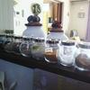 対面キッチンのカウンター上も油汚れは存在する