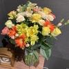 【花を飾る】#9 黄色いバラの組み合わせ