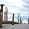 アサヒスーパードライとハッシュドポテト。東京テレポート「ローソン」