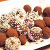 長男のお菓子作りトリュフチョコレート