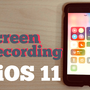 「iOS11」iPhoneの画面を録画する機能「画面収録」が追加されたので試してみた!