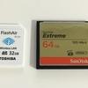 D810で使用しているCFカードとSDカード