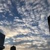 2019年1月4日、仕事初め〜空に浮かぶ雲と太陽と〜