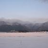 雪の武奈ヶ岳「雪遊びへ」