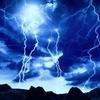 雷が強烈過ぎて震えた (((;°Д°;))))