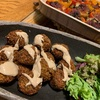 【地中海料理ファラフェル】と【なーんちゃってギリシャ料理パプリカの詰め物】