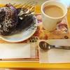 ミスタードーナツ新作。焼きマシュマロチョコレートとショコラデニッシュを食べたよ。