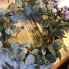 お花のリース作りはやっぱり楽しい❣️