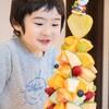 子供が大喜び!ケーキの代わりにフルーツブーケを注文