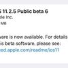 iOS11.2.5 Public Beta6がリリース
