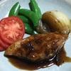 鶏むね肉のバルサミコ酢煮