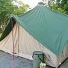 新幕【DOD】tsuku tsukuベースで猛暑キャンプ