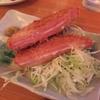 【食メモ】ハムカツの名店 上野「カドクラ」ではビーフジャーキーを食べておきたい