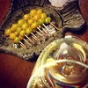 ぎんなんでワイン!【ガーリック焼き銀杏とソーヴィニヨンブラン】