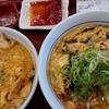 なか卯 / 酸辣湯麺&辣油親子丼