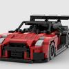 【レゴ自作】日産GT-RのGT500マシンの動画  かなりの自信作