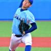 伸びのあるストレートとフォークが武器 日本体育大 吉田 大喜選手 大卒右腕投手