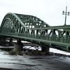 旭川のシンボル・旭橋とロータリー