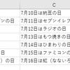 日付データ(シリアル値)をお好みの表示形式で文字列に変換する