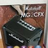 【機材レビュー】小型アンプ Marshall MG2CFX