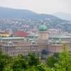 【ハンガリー】ブダペストの街をゲッレールトの丘から眺める