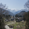 五箇山と白川郷の春景色4K動画
