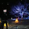 小樽市の冬 - 雪あかりの天狗山 -