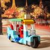 """レゴ:タクシー""""トゥクトゥク""""の作り方  クラシック10698だけで作ったよ"""