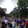 山中湖ロードレース大会参加。