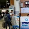 ドンムアン空港から無料シャトルでスワンナプーム国際空港へ