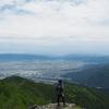 松本市の里山へ登山▲金松寺山&天狗岩