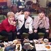 ヒョンウォン・キヒョン・ジュホンのモクパン放送!メニューはサルチサル&ユッケ